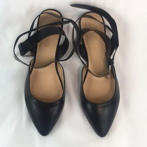 Chase + Chloe Ankle Strap Flats